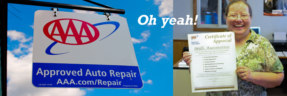 Aaa Approved Auto Repair Mills Automotive